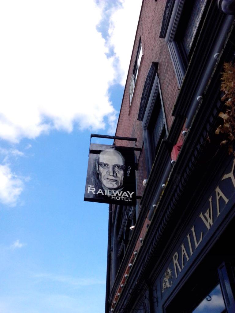 wilko pub sign