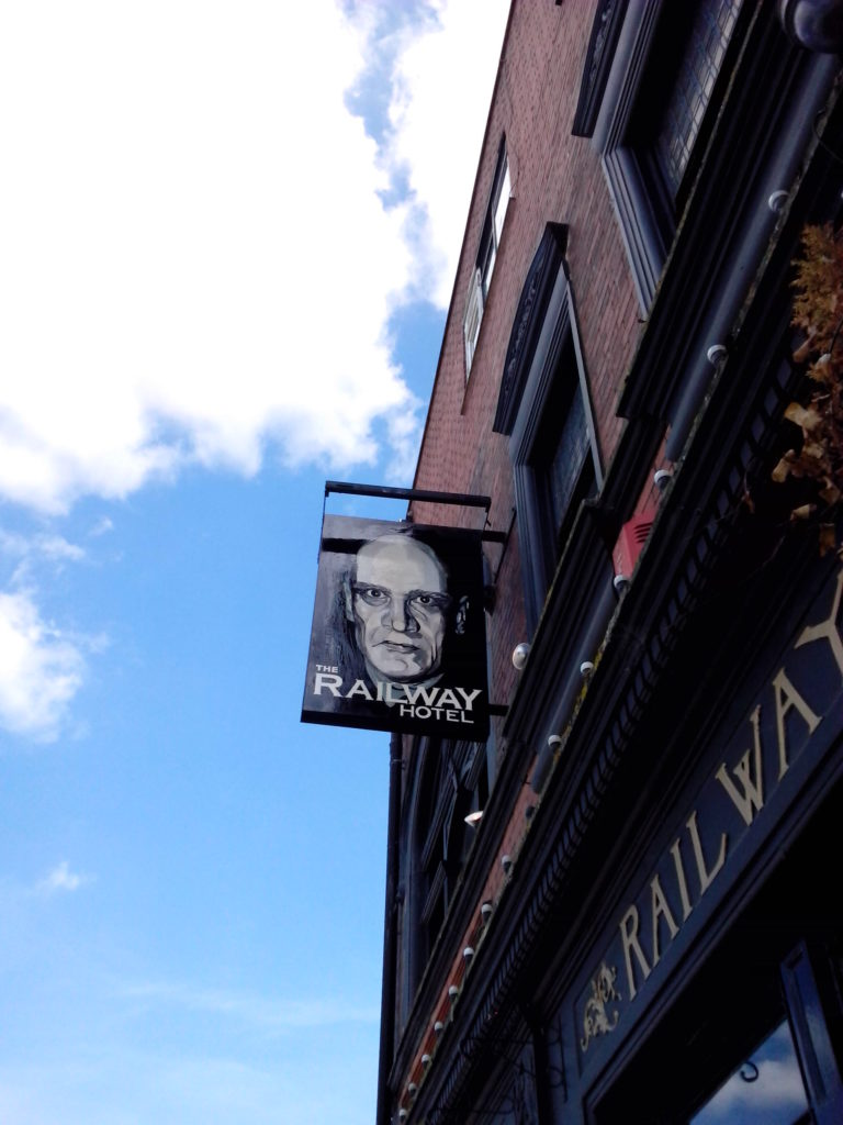 wilko pub sign