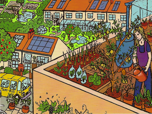 Design 4 ACTION! Permaculture Course, Finsbury Park, London, Spring 2019