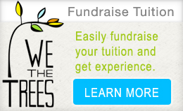 Fundraise your course tuition with WeTheTrees!